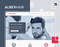 AlrevHair - Website Design