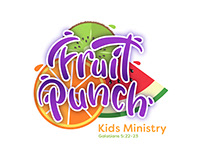 FRUIT PUNCH | Kids Ministry Branding