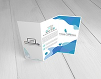 12 TriFold Brochure Mockup
