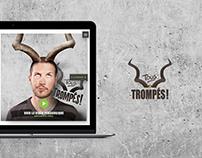 Tous trompés ! - Website design