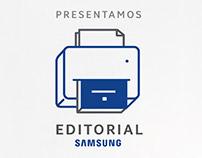 Proyecto Editorial Samsung