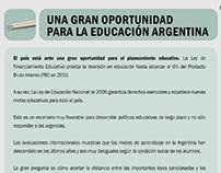 2009 – Educación: El momento y la oportunidad
