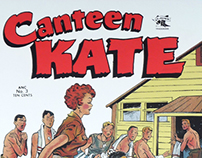 Canteen Kate Comic Book restoration project