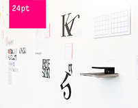 24pt – potsdamer typolehre – Ausstellung