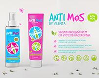 крем от комаров ANTI MOS