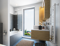 Bathroom Rendering.