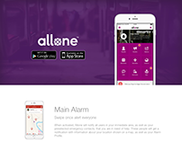 Allone Website