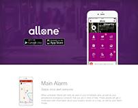 Allone Website
