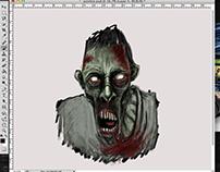 Speedpainting zombie