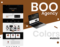Boo Agency Landing Page