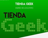 Tienda Geek - Diseño de Logotipo