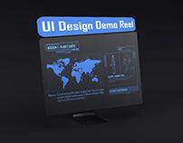 UI Design Demo Reel
