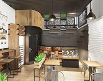 Cafe in LOFT
