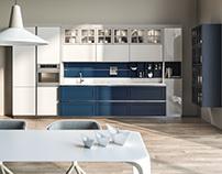 Blue Marine kitchen for ELNOVA
