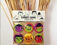 Ghouly Gang Magnet Set