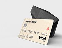 Sleek Contemporary Bank Card Design