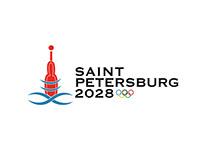 Logo Design: Saint Petersburg Olympics 2028