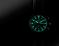 ARCHIMEDE PILOT CHRONOGRAPH Automatic watch
