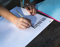 Lettering Workshop by Bacon&Tomato