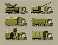 Military truck set