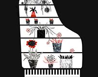 Piano = Cupboard