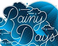 Night and Day Lettering Series I