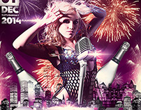 New Year Magic Party Flyer