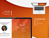 Backpack Free Bootstrap Blog Template