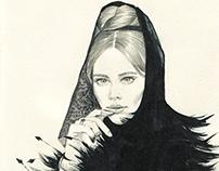 Ulyana Sergeenko.