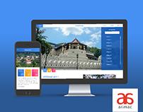 e-heritage UI design for Web and Mobile