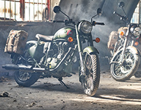 Royal Enfield 'pegasus' launch