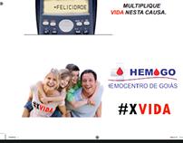 Campanha de doação de órgãos hemocenrtro GO