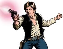 Han Solo (comission / encargo) para web