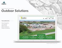 Outdoor Solutions Website redesign