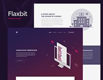 Flaxbit | Trendy website design
