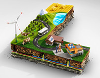 Miniature Landscape L