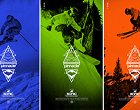 K2 Pinnacle Freeride Collection Visual Identity