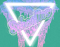 Schoolies Remix Release Party - Poster Design