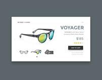 UI Challenge 06 - Sunglasses