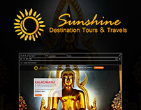Sunshine Destination Tour & Travels - Logo & Web design