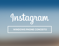 Instagram - Windows Phone Conceito