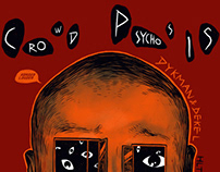 Cover HLTD085 - Dykman & Dekel - Crowd Psychosis EP