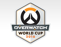 Overwatch World Cup 2016 Posters