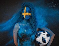Fifa Worldcup 2018 portrait series.