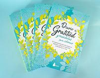 Libro 'Diario de Gratitud y mandalas para colorear'