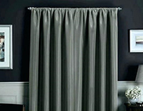 Use the Room Darkening Curtains for A Pitch-Dark Day!