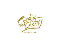 "VI Design for ""Cooking for Charity"""