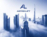 Логотип и айдентика для компании «Астролифт»