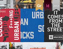 Urban Socks // Brand Identity