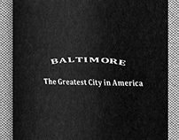 rso196, Baltimore, the greatest city in America (book)